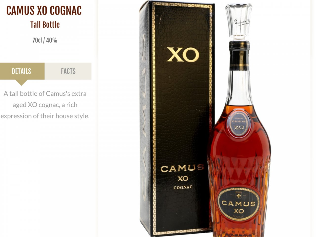 Wants To Know The Price Of This Vintage Camus Xo Thanks