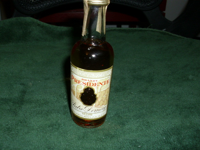 I Have A Vintage Bottle Of Padro Domecq Brandy Presidente