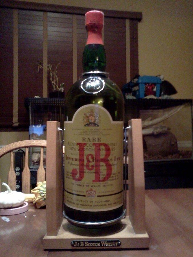 I Have A 1 Gallon 1974 1987 Era Bottle Of J Amp B Rare Scotch