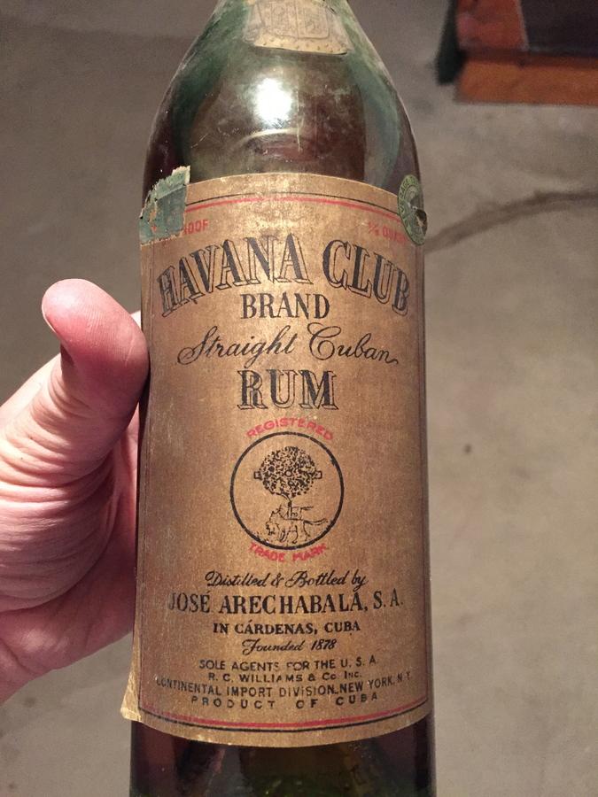 Overholt Hennessy Bacardi Havana Club Drinks Planet