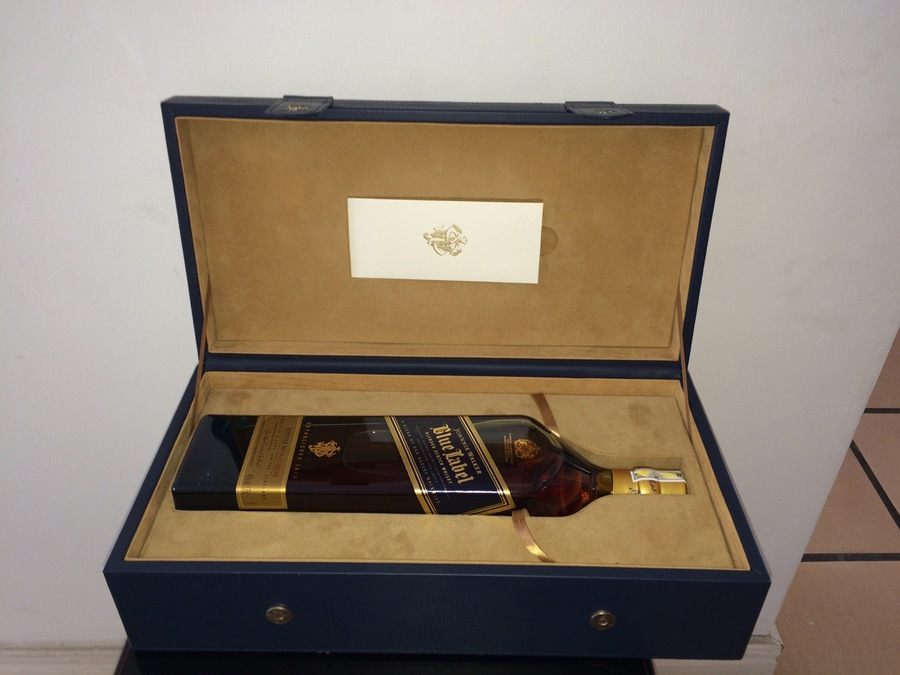 It's just a photo of Peaceful Johnnie Walker Blue Label Case