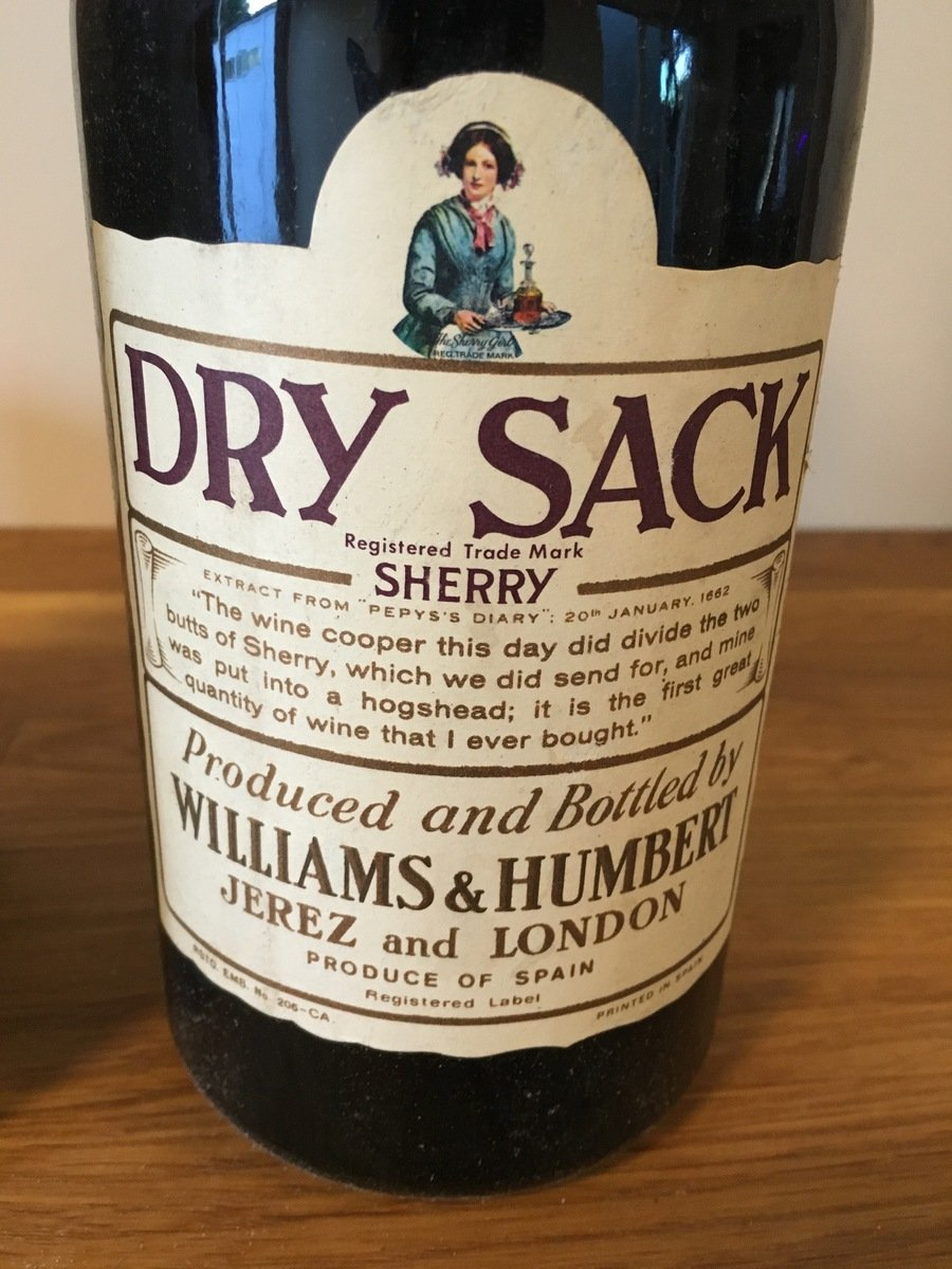 Bottle Of Dry Sack Sherry Produced By Williams Humbert Drinks Planet