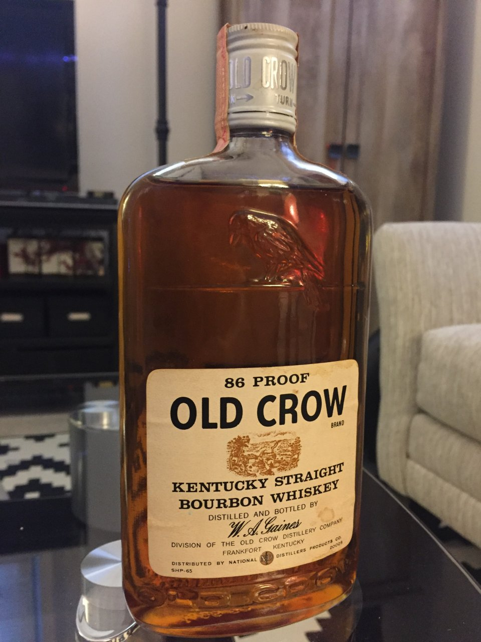 How Much Is Tax >> How Much Is This 86 Proof Old Crow Whiskey (estimated ...