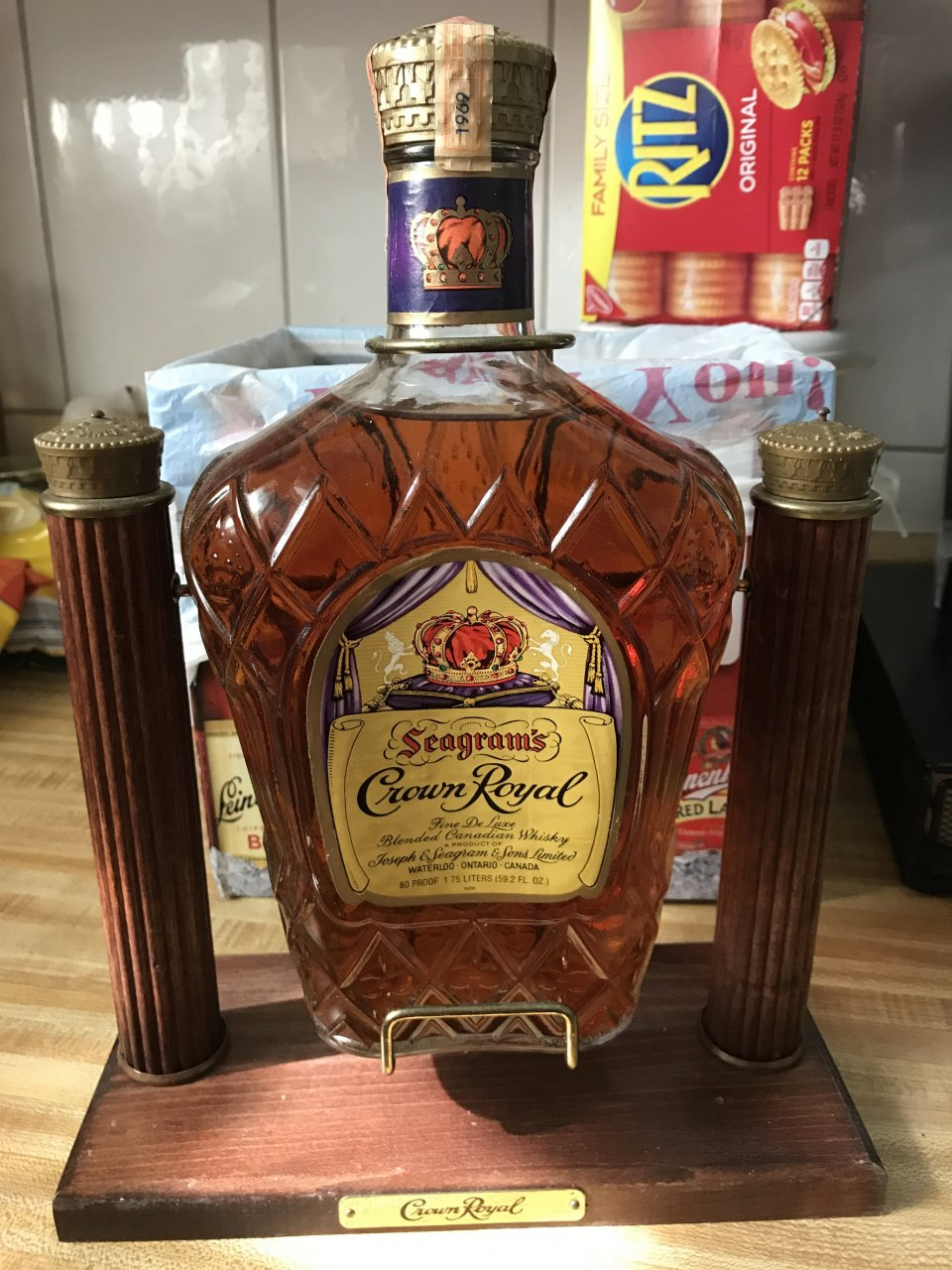 Was specially vintage crown royal whiskey congratulate