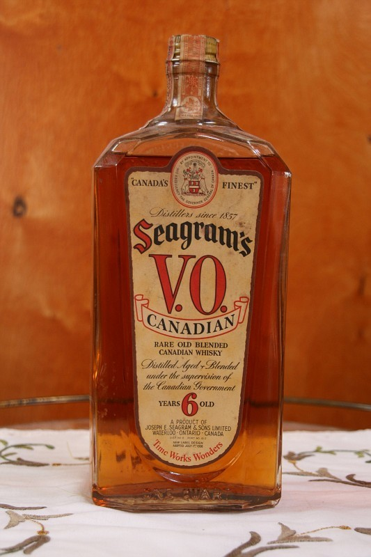 Hi Another Bottle In Question Seagrams Vo Rare Old
