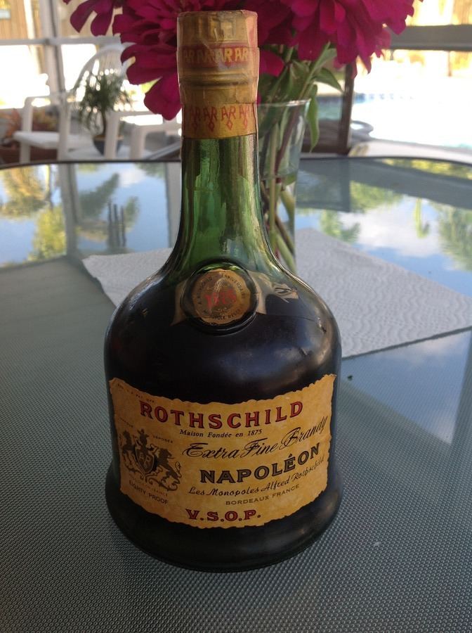 What Is The Value Of Rothchild Napolean Brandy 5 9 73