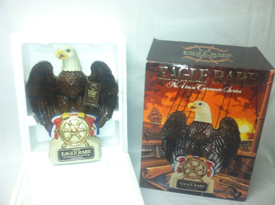 Eagle RARE Decanter It Is Still Sealed Full Of Whiskey
