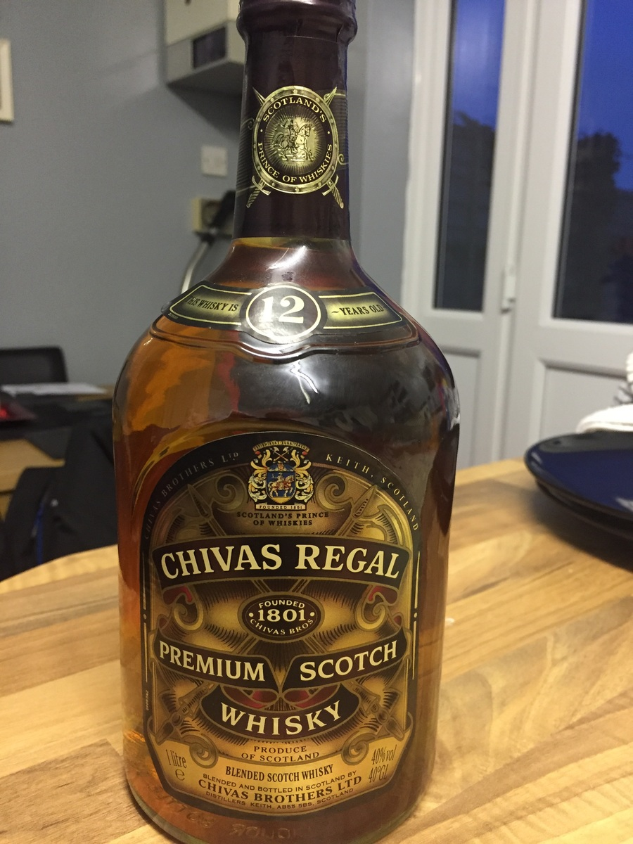 Chivas regal dating a bottle