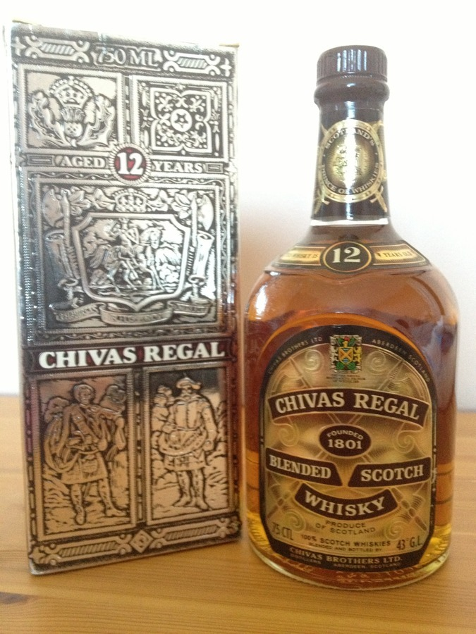 Dating chivas regal labels