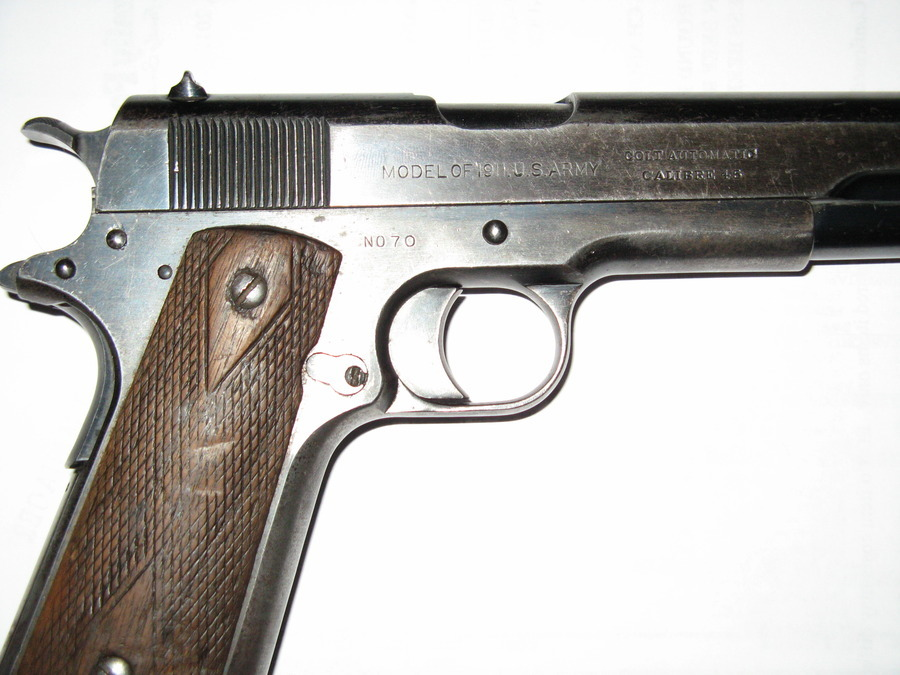 I HAVE WHAT APPEARS TO BE A REMINGTON UMC SERIAL #70 1911 WI