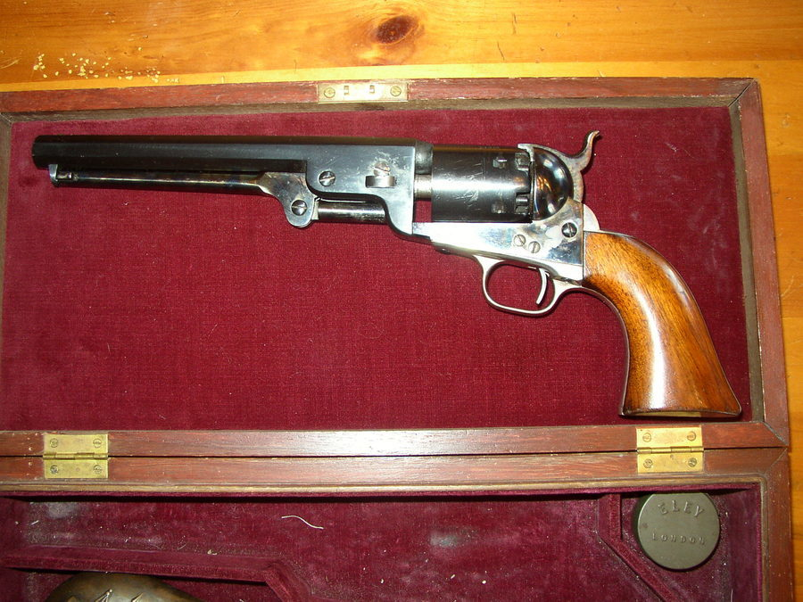 My Friend Has A Colt Single Action Cap And Ball Revolver  It