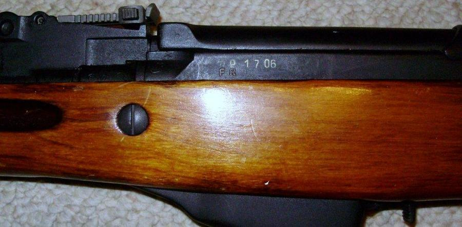 I Have A 1952 Russian SKS With Bayonet And All Matching
