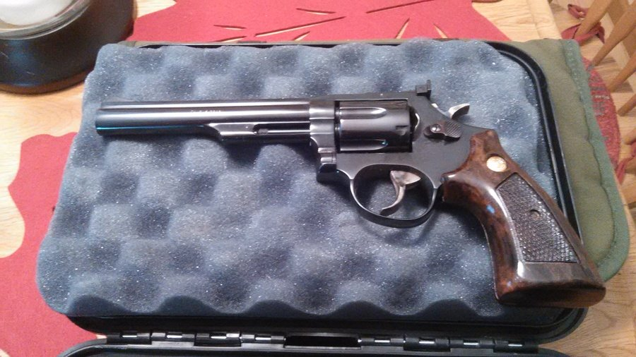What Is The Value Of My Taurus Revolver 357 Mag? Serial