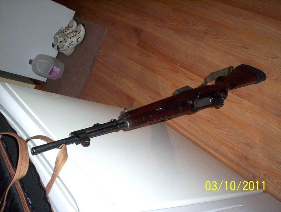 I Just Picked Up I Think M1a Or Grande 7 62mm  It Has 7 62mm