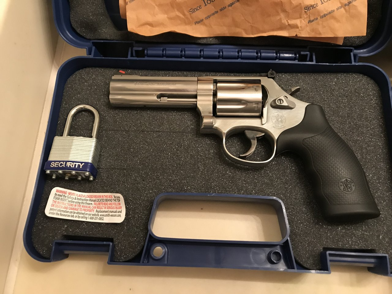 Yes I Have A Smith & Wesson 686 N Frame SS 4â 7 Shot 357/38 Spl ...