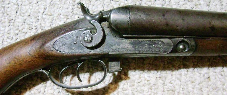 I Have A Parker Brothers Shotgun I Believe It Is Gun
