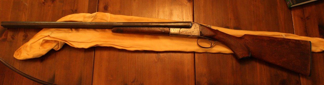 ITHACA Double Barrel Shotgun  This One Belonged To My Great