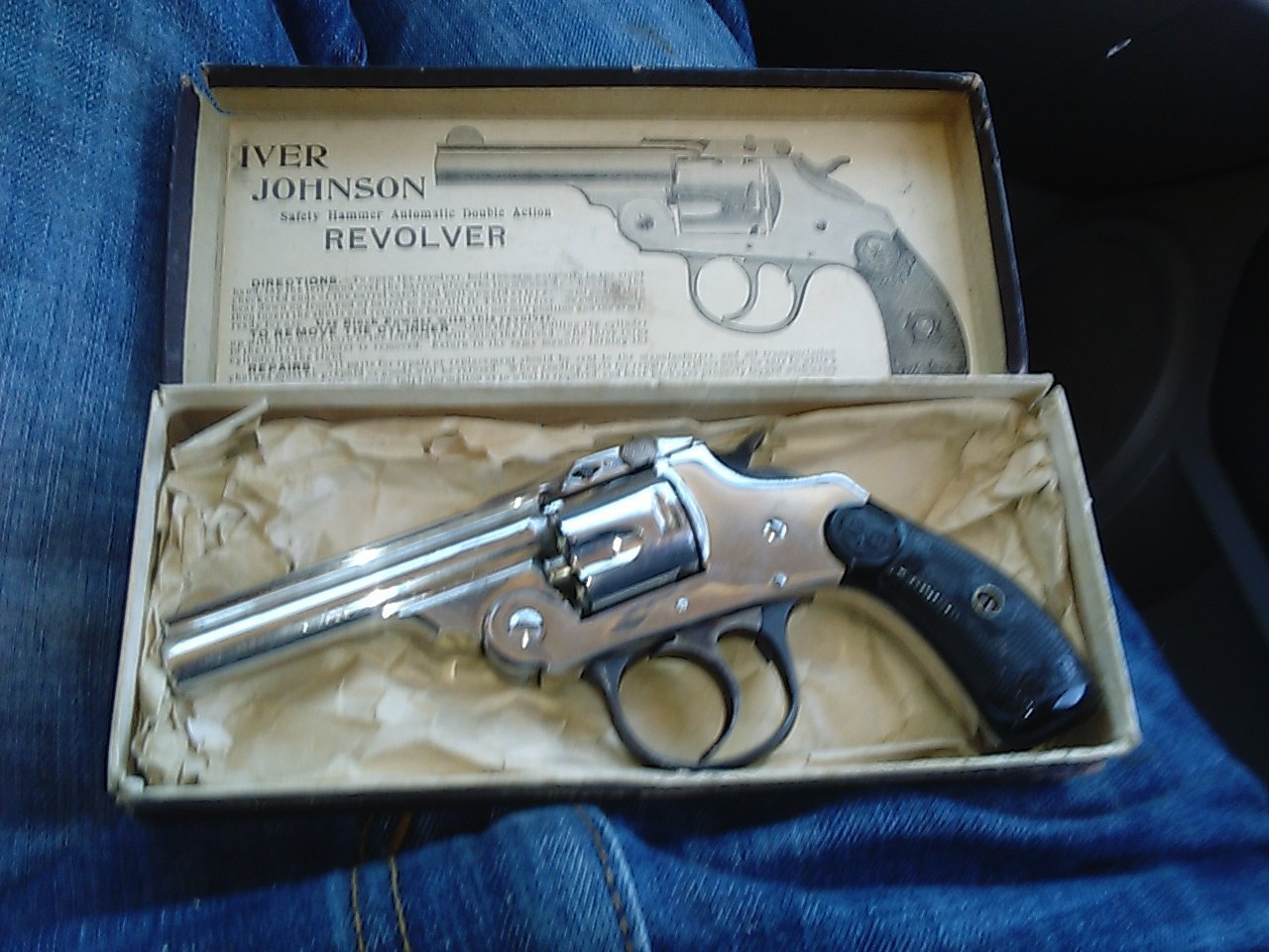 I Have An Iver Johnson Revolver Safety Hammer Automatic