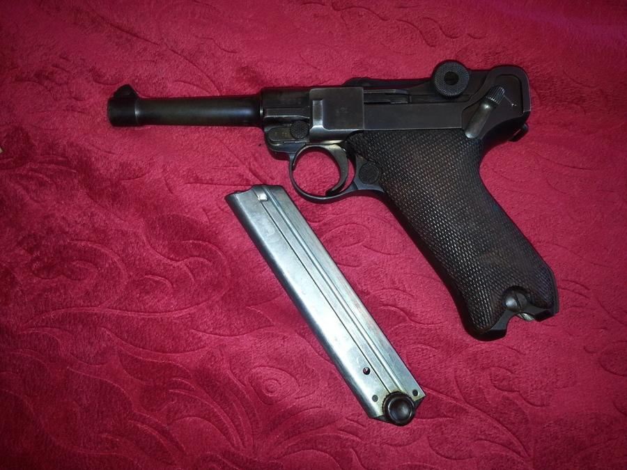 1913 Erfurt Luger Serial 9371 | Gun Values Board