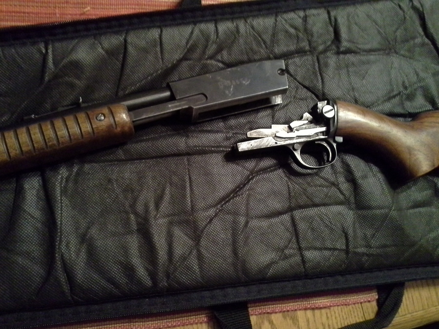 Winchester model 61 22 pump rifle for sale