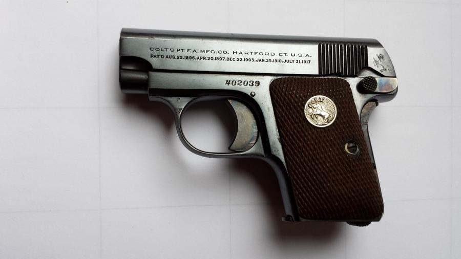 I Inherited My Grandmother S Colt 25 Caliber Automatic