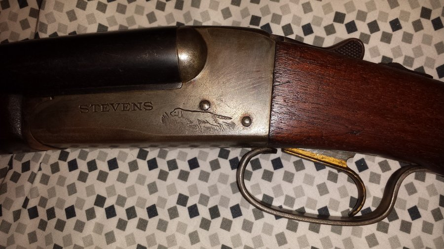 J  Stevens Double Barrel Single Trigger 16 Gauge Shotgun Age