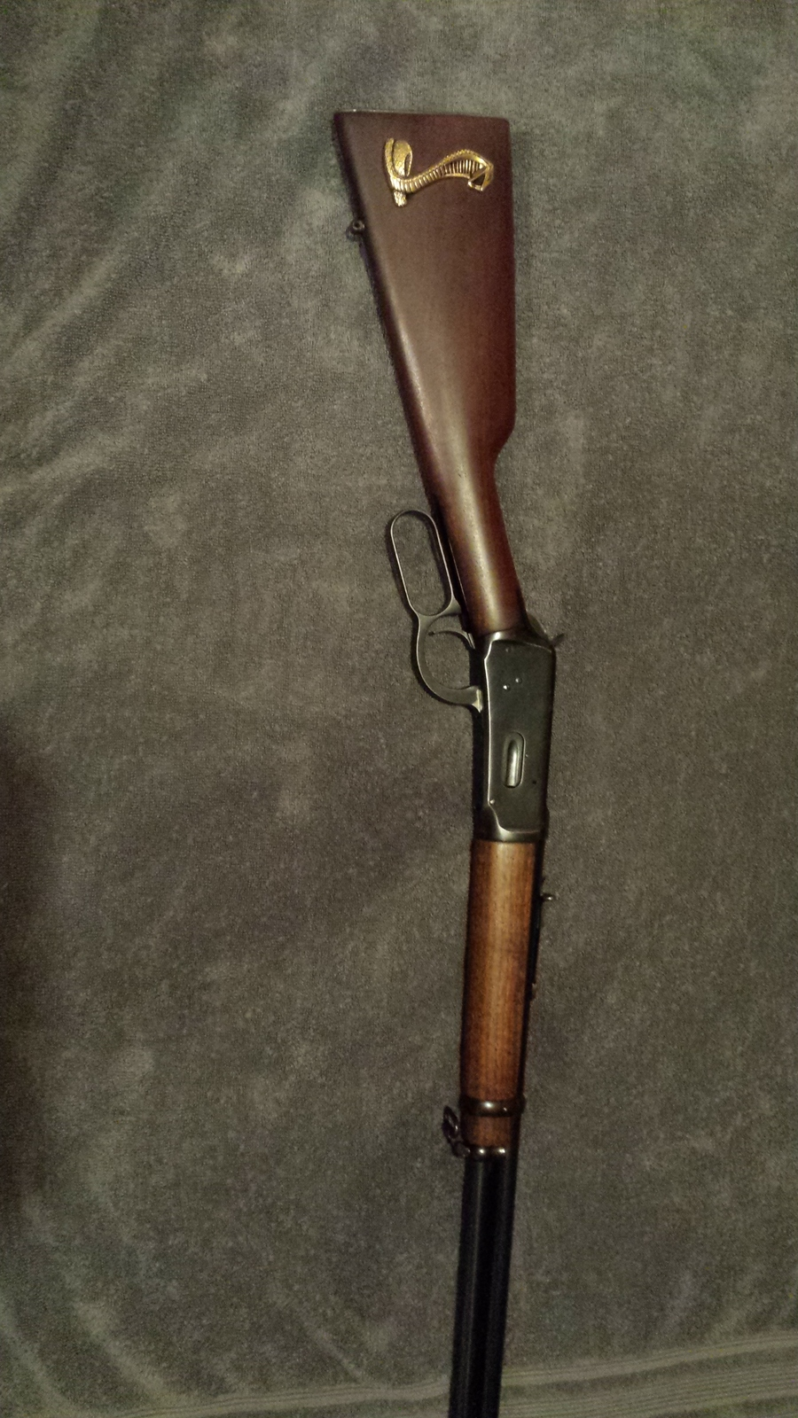 I Have A 1954 Winchester Model 94 30-30 With A Gold Cobra On