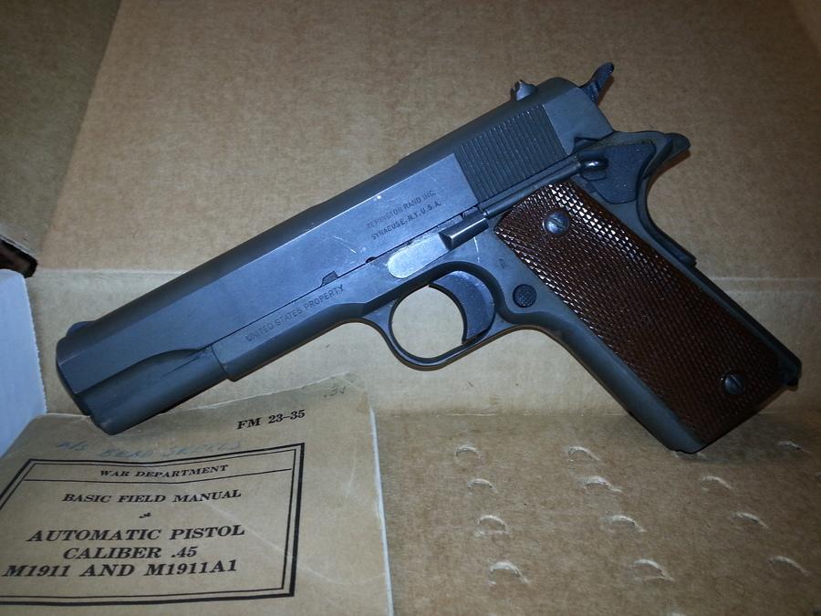 Remington Rand No  4488607 | Gun Values Board