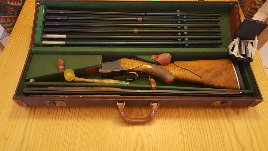 I Have A Browning Lightning 12ga Superposed With 3 Set Of