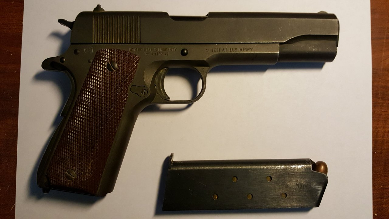 Ithaca M 1911 A1 Found In My Deceased Fathers Things - What