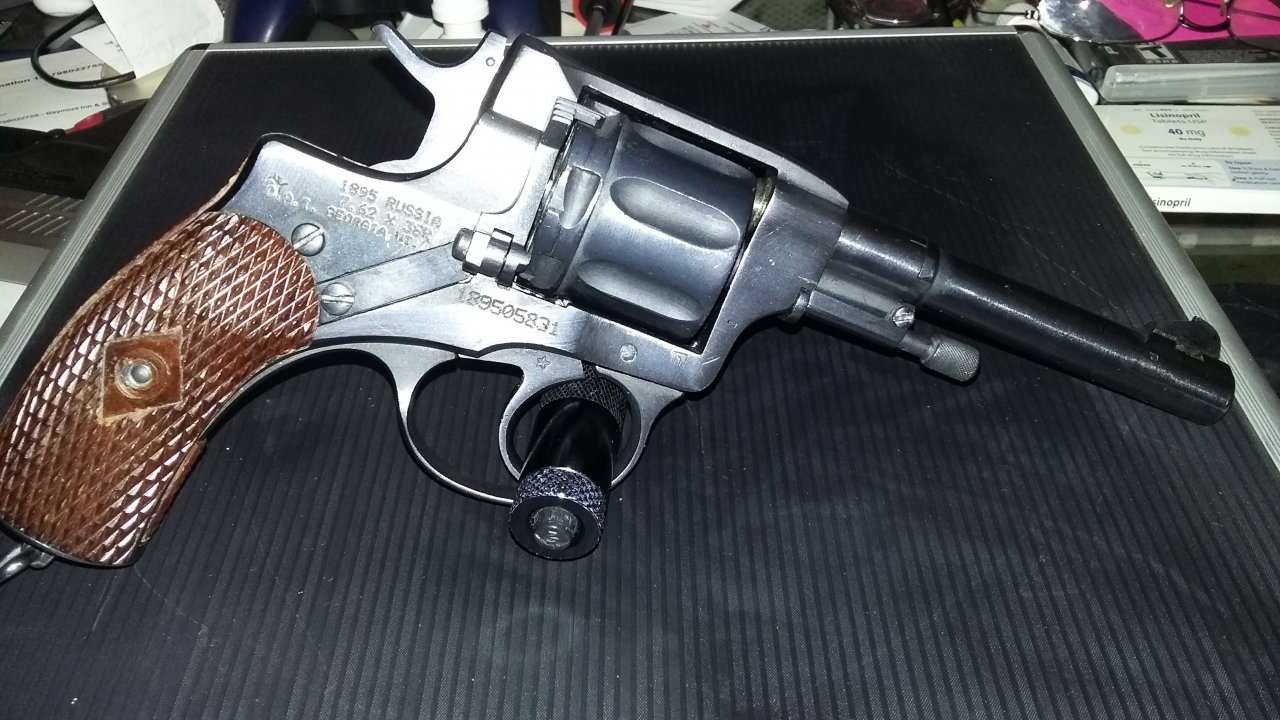 1912 Single Action Nagant Pistol | Gun Values Board