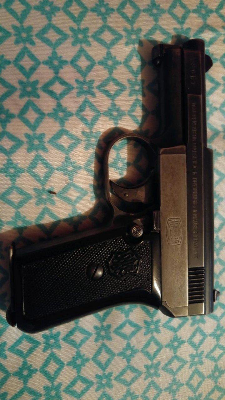 Waffenfabrik Mauser A-G Oberndorf A N  Mauser 3 Patent Serial Number