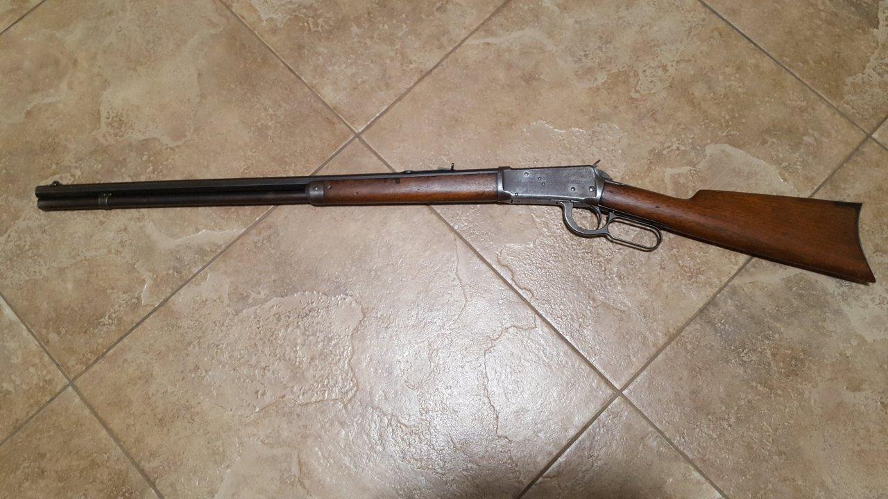 Dating Winchester 94 serie nummer