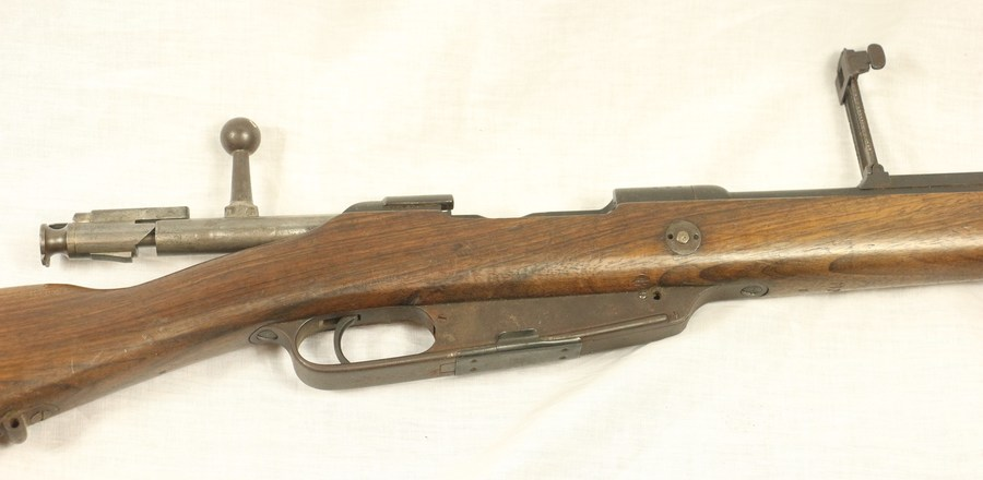 I Have A Danzig 1888 Commission Rifle  Could Someone Give Me Its