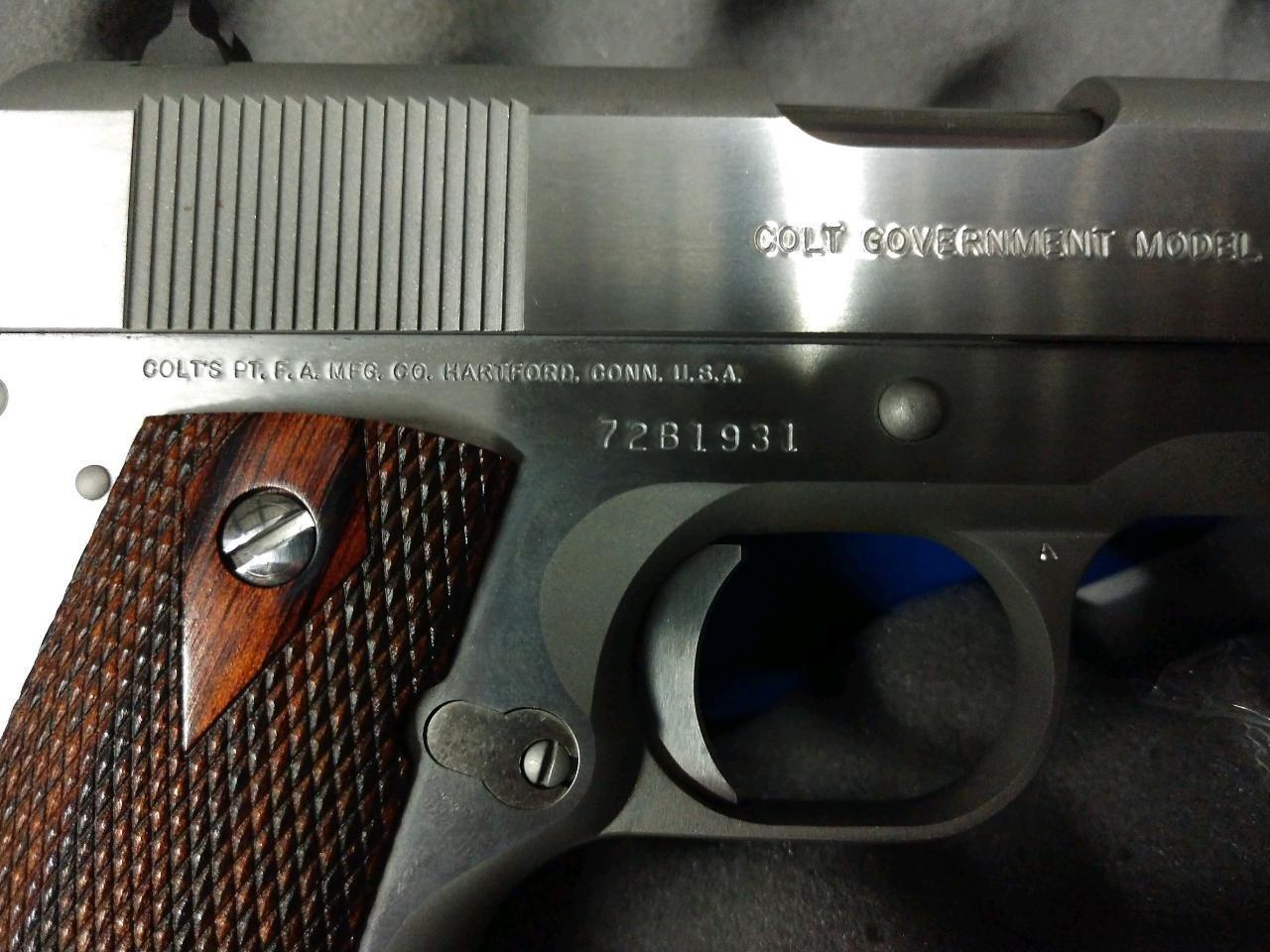 I Have A NIB Colt 1911 Series 70 ,45 ACP,5'in Barrel,brushed