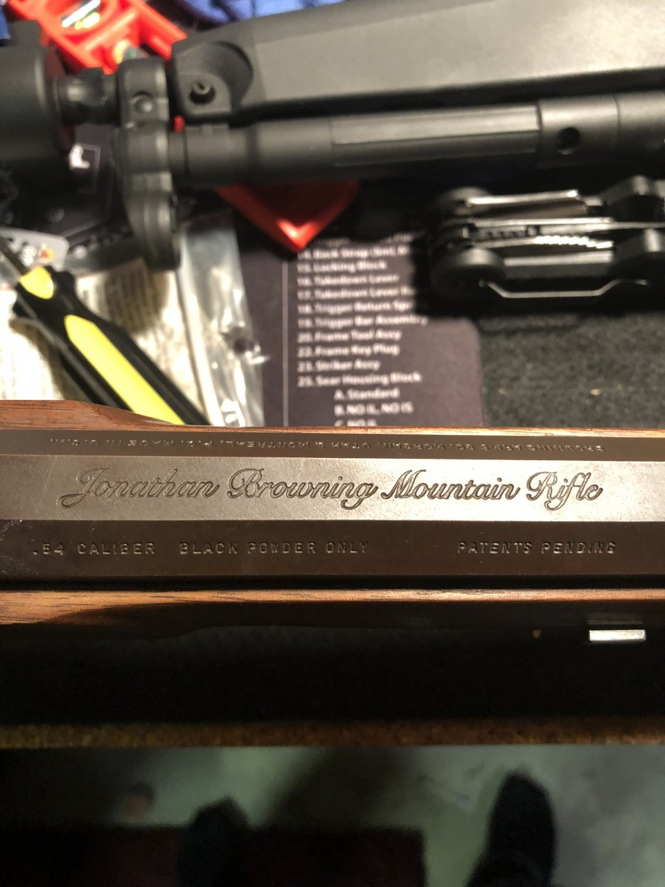 I Inherited A Jonathan Browning Mountain Rifle  I Don't Have The