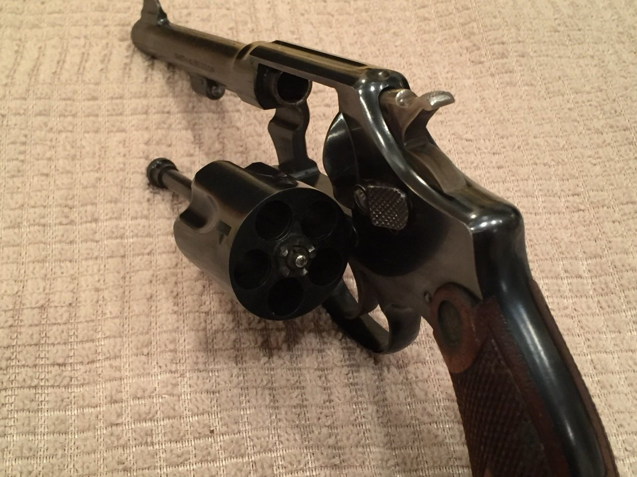I Am Trying To Determine The Age And Value Of My Smith And Wesson 38
