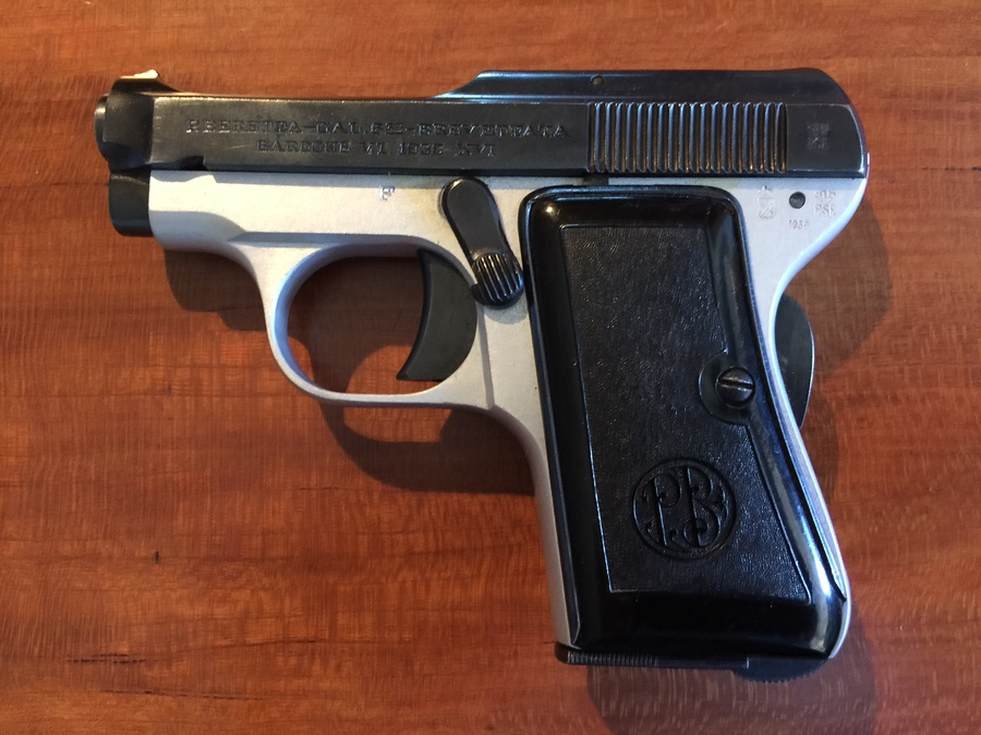 I Have Inherited A Baretta Handgun Which I Am Trying To