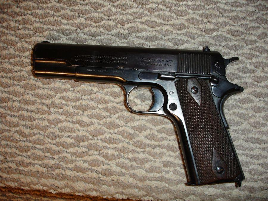 WW1 Colt 1911 | Gun Values Board M1911 Pistol Ww1