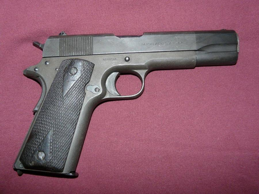 I Have A Military Issue Colt 1911 With A Serial Number Of 61 ...