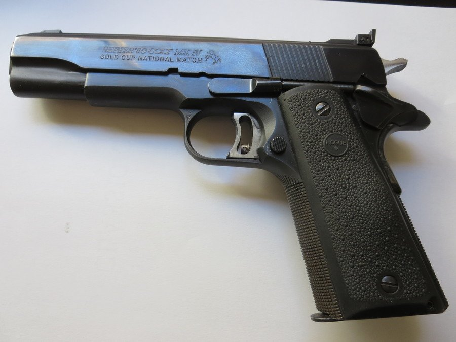 Need The Value Of A Colt 45 ACP Gold Cup, National Match