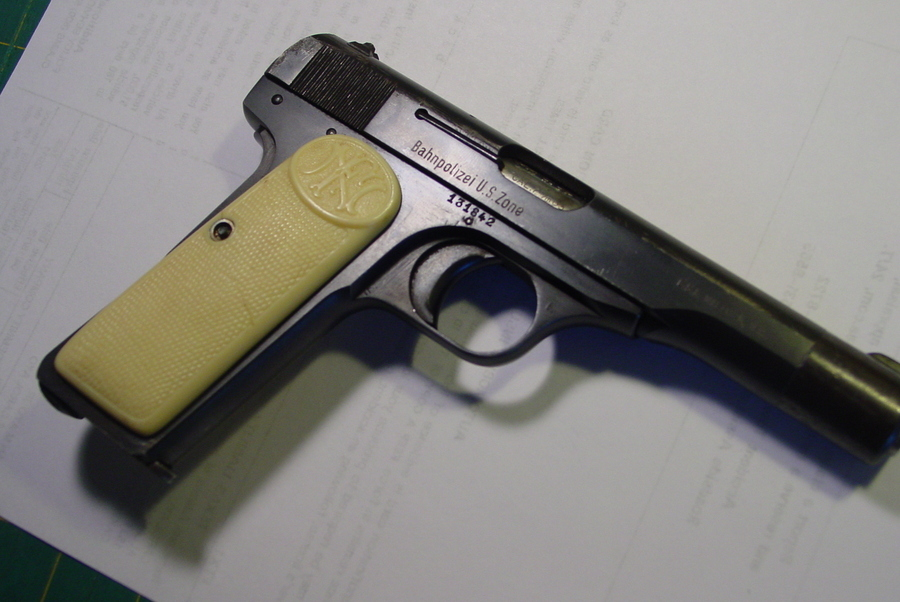 Morning I Have A Browning Patent Depose 7mm 65 Pistol No Rust But