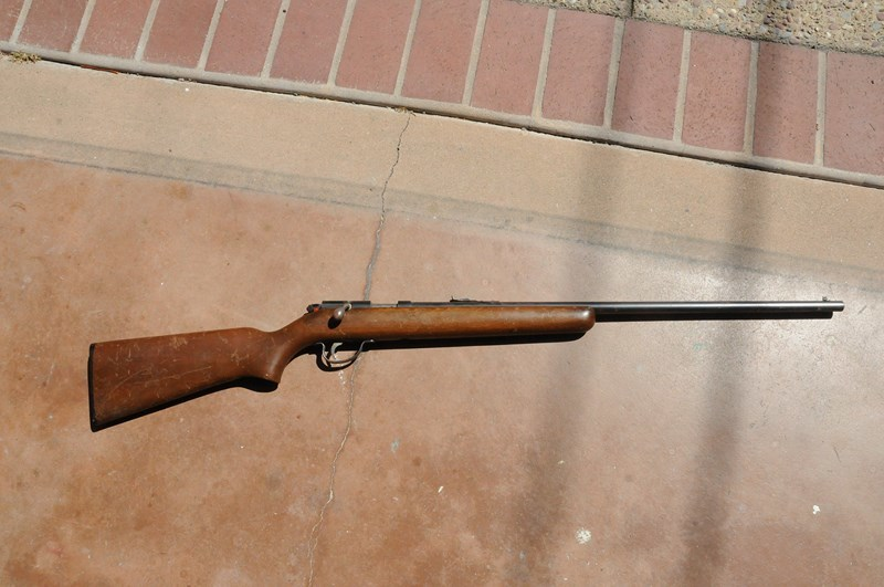 What Is The Value Of My Winchester 22 Single Shot, Bolt