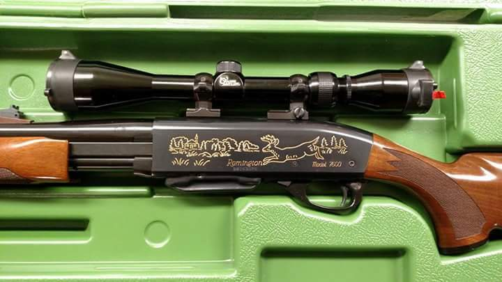 dating Remington 7600 instruksjoner for å koble til VCR