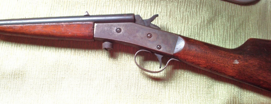 A 14 12 Little Scout 22 Long Rifle Pat July 02 1907 W