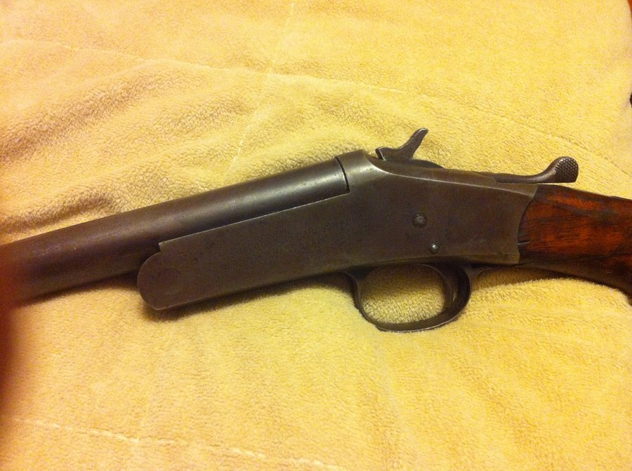 Old Harrington And Richardson Shotgun Gun Values Board