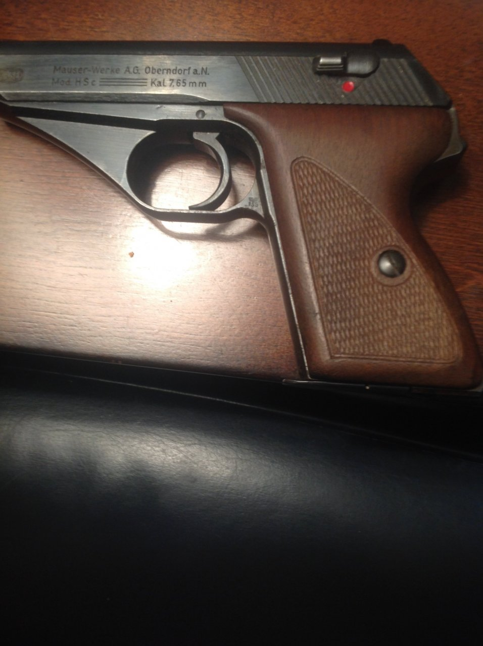 I Have A Mauser-Werke A G Oberndorf A N  Mod HS Kal 7 65 Mm Serial