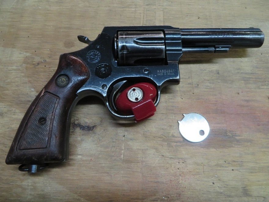 I Have A Taurus Model 82  38 Revolver I Believe Is An Army Surplus
