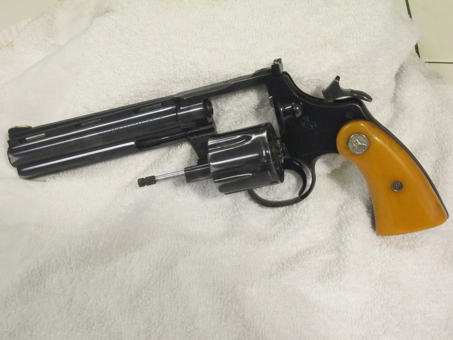 I Have A 1959 Colt Python 357 With The Original Colt Ivory Grips  It