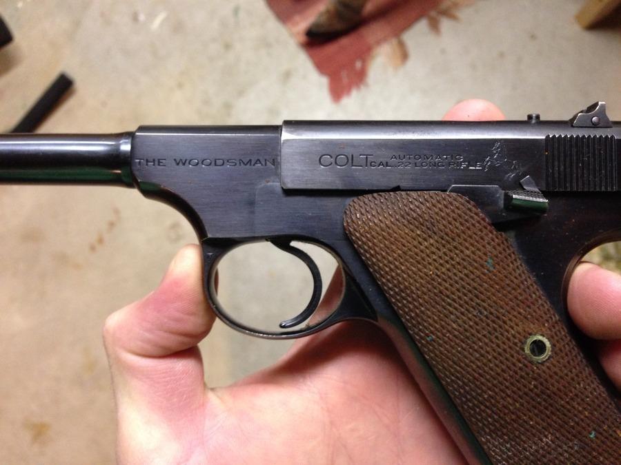 Colt Woodsman 22lr | Gun Values Board